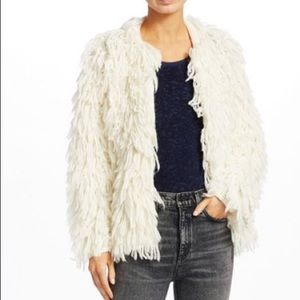 Rag & Bone Amber Shaggy Wool Jacket